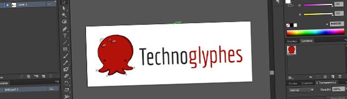 Technoglyphes : le processus créatif derrière le logo