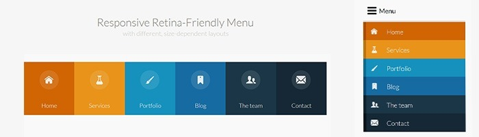 Un menu Responsive et Retina-Friendly sur Codrops