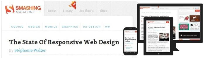 Sur Smashing Magazine : Responsive Webdesign – présent et futur de l'adaptation mobile