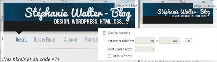 Tester du responsive sous Chrome sans plugin : 2 astuces