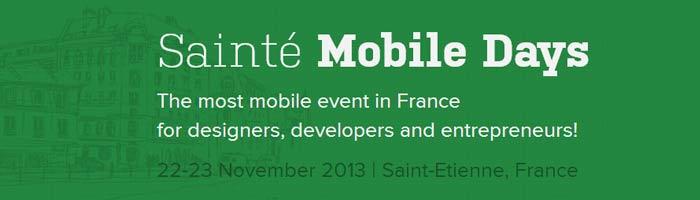 Conférence sur la mobilité à Sainté Mobile Days !