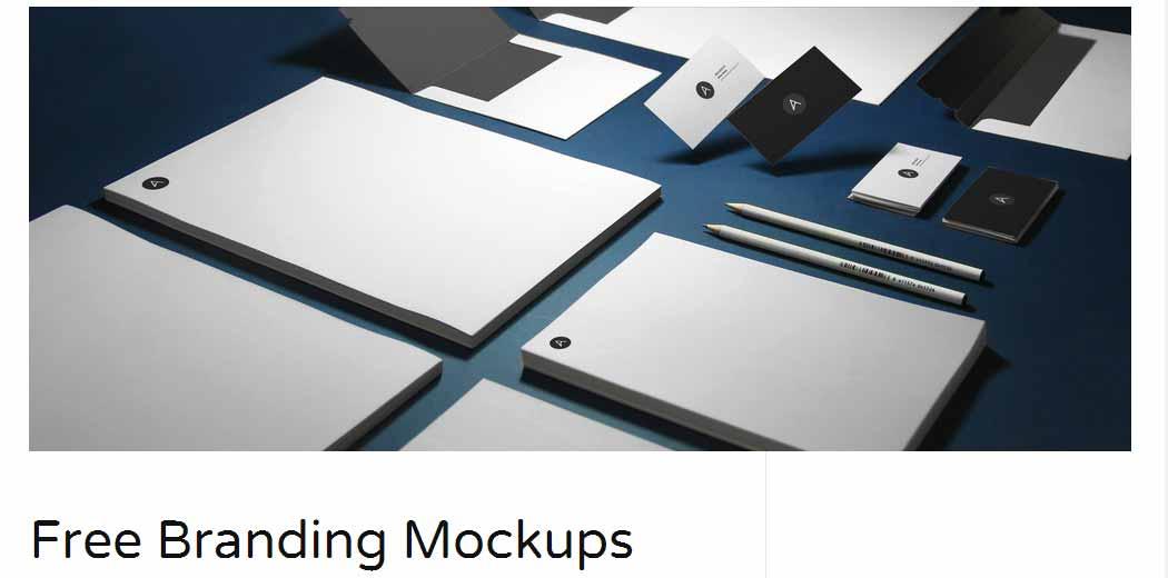 Free Branding Mockups