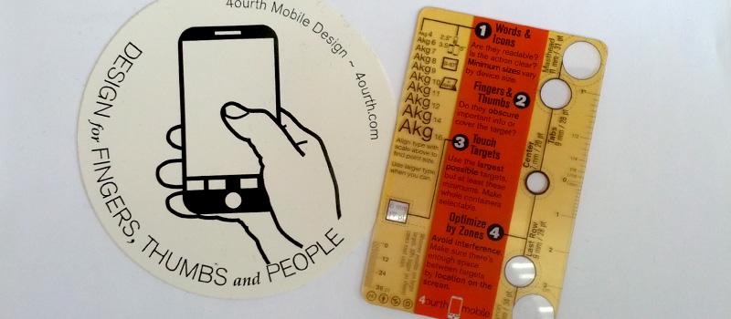 Touch Template, la petite règle pour tester vos interfaces mobile de 4ourth