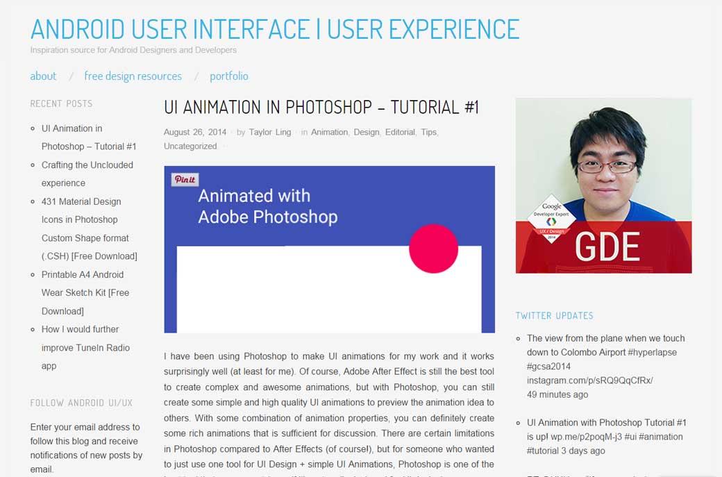 UI Animation in Photoshop – Tutorial #1