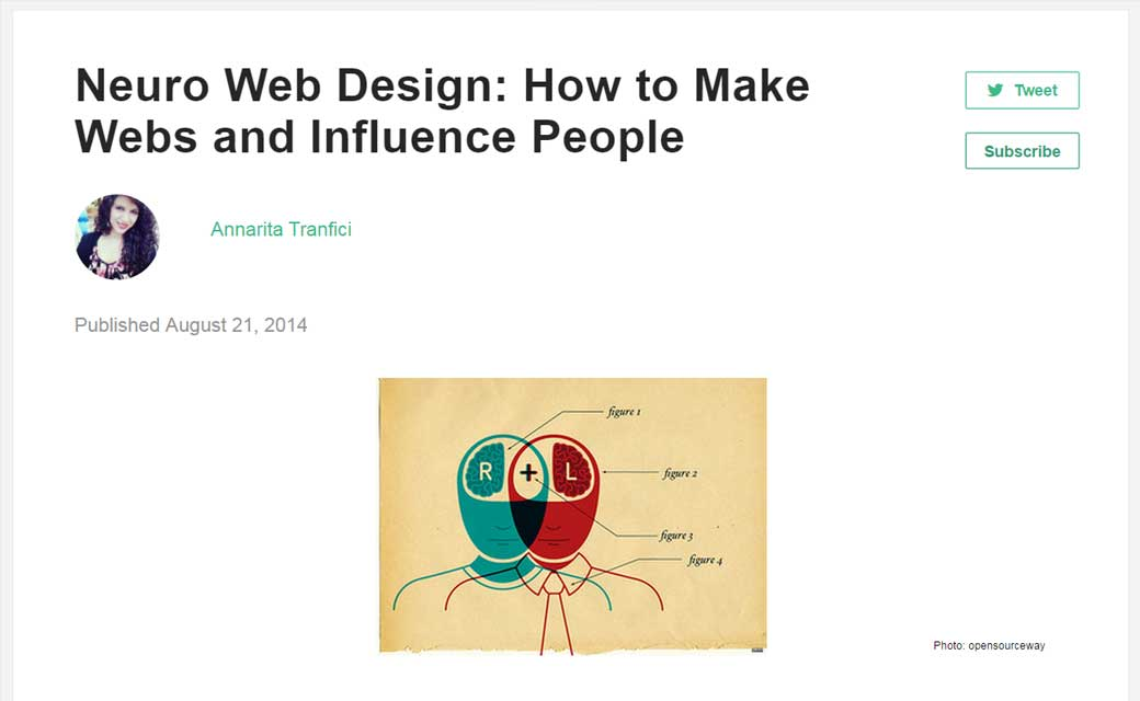 Neuro Web Design: How to Make Webs and Influence People