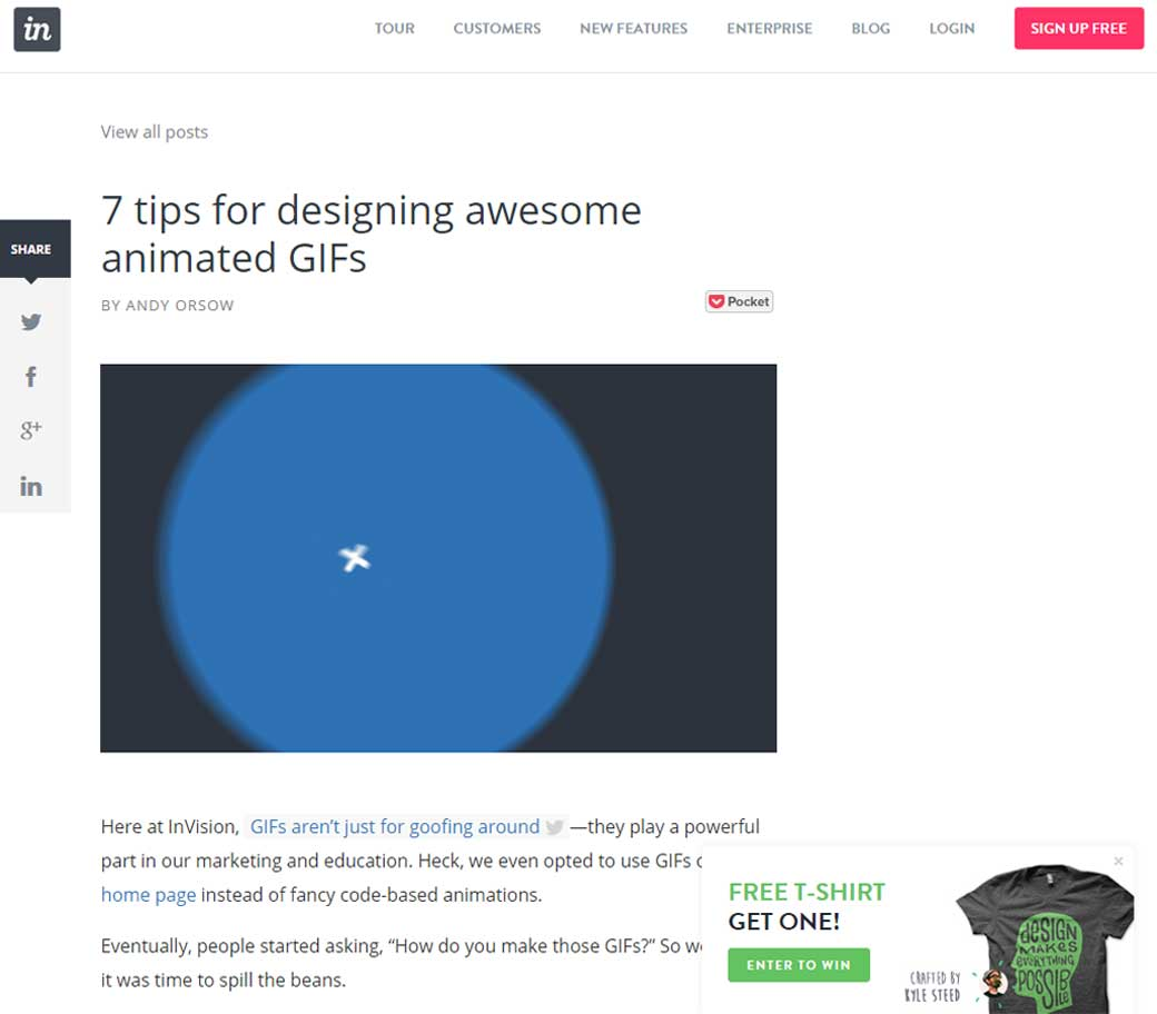 7 tips for designing awesome animated GIFs