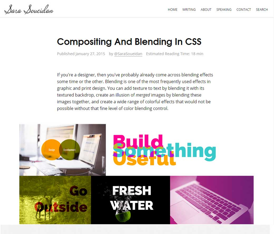 Compositing And Blending In CSS