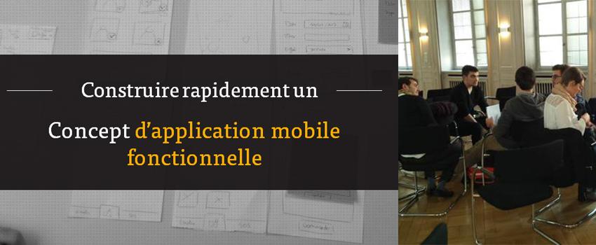 Construire et prototyper rapidement un concept d'application mobile – présentation Bizz & Buzz 2015