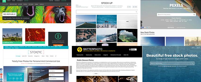 Trouver de jolies images libres et gratuites en CC0 pour vos projets