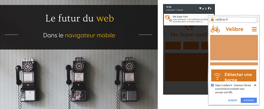 Le futur du web dans le navigateur mobile ? - Confoo 2016
