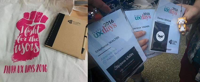 Flupa UX days 2016 – Mon résumé des ateliers