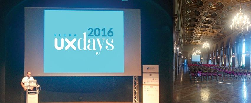 Flupa UX Days 2016 – mes notes de la journée de conférences