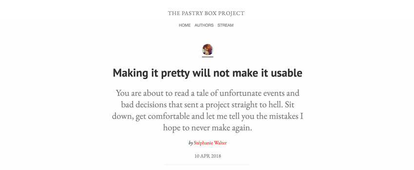 « Making it pretty will not make it usable » – l'histoire d'une application « jolie » mais inutilisable et d'un projet qui finit mal
