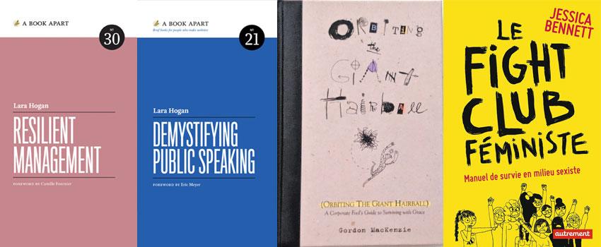 4 Livres non techniques qui m'aident dans ma carrière