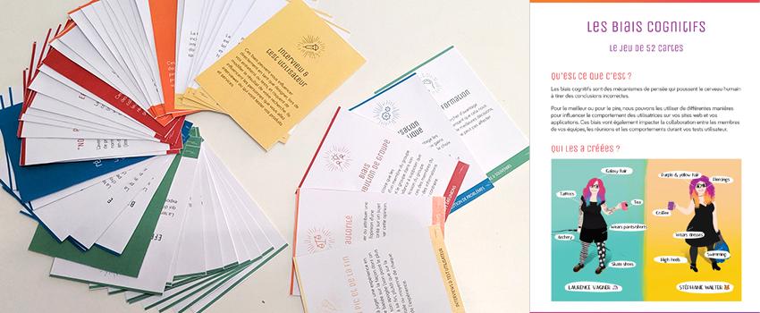 À la découverte des biais cognitifs – le jeu de 52 cartes UX
