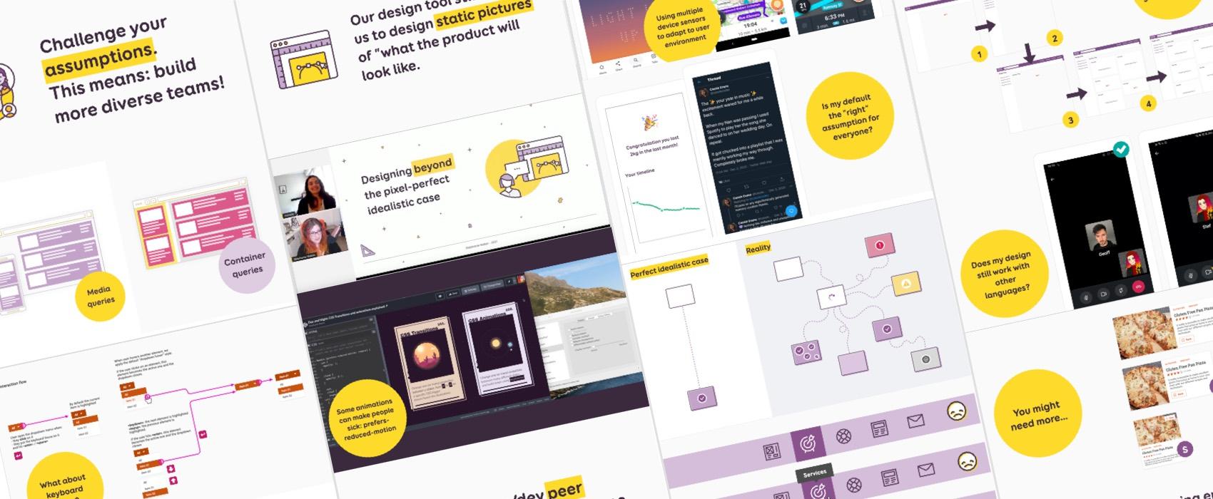 Conférence: Designer au delà du «pixel perfect» qui n'existe pas