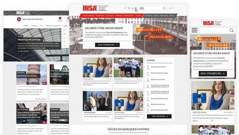 INSA - Site and blogs