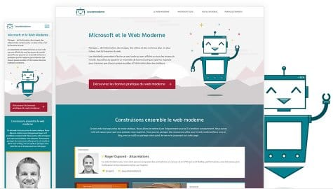 Microsoft Modernweb Website