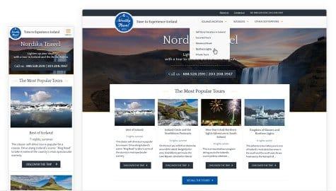 Nordika Travel Website