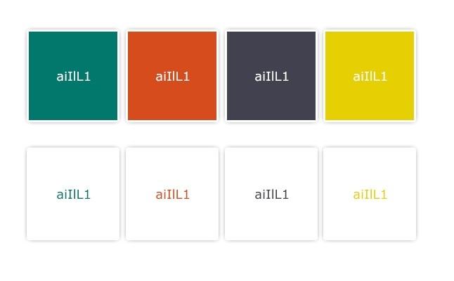 Initial color palette