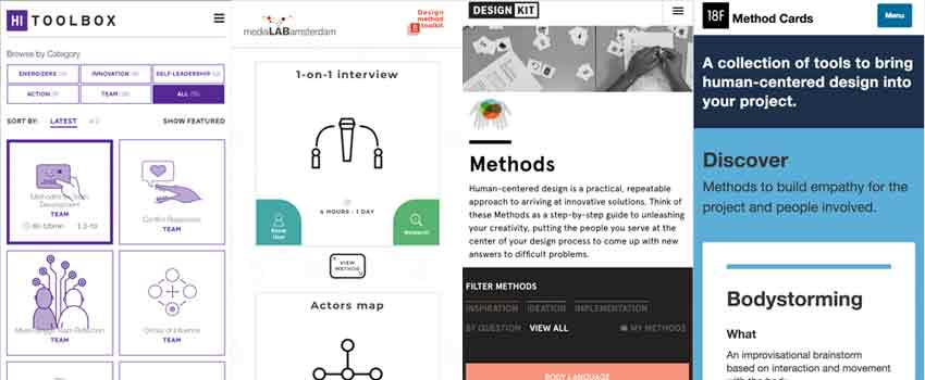 Solving design problems: Finding UX tools, methods & activities