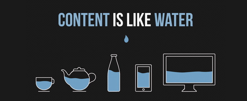 "Download the ""Content is like Water"" Illustration"