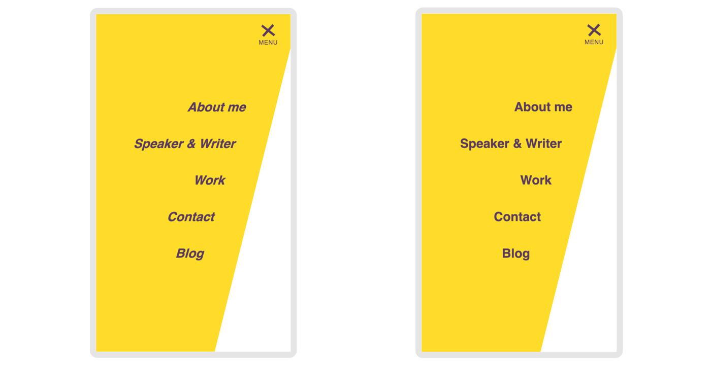 Portfolio Rework Part 1: Animation, Micro interaction & SVG