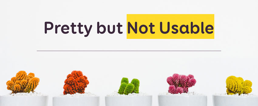 Pretty, but not Usable – CSSDay 2019 UI Special