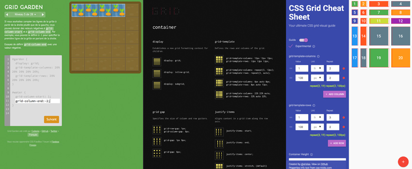 Fun places to learn CSS Layout – Part 2: Grid Layout