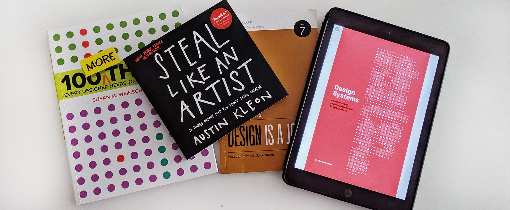 📚 Bibliography – Selected Books on Design, User eXperience, Mobile, Accessibility & more
