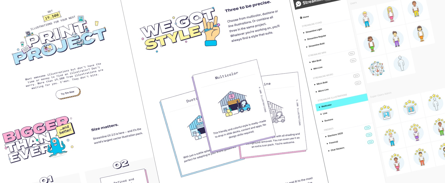 (finished) Win a free Streamline UX 2.0 Illustration Pack!